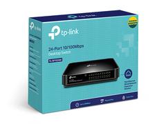 TP-Link TL-SF1024 - 24-портовый 10/100 Мбит/с настольный коммутатор