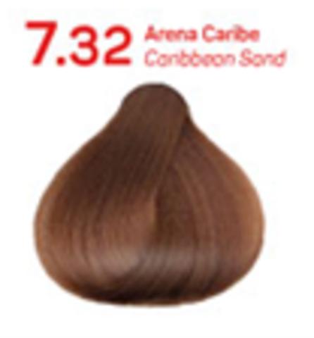 7.32 землистый песочный. Краситель для волос с эффектом лифтинга KV-1