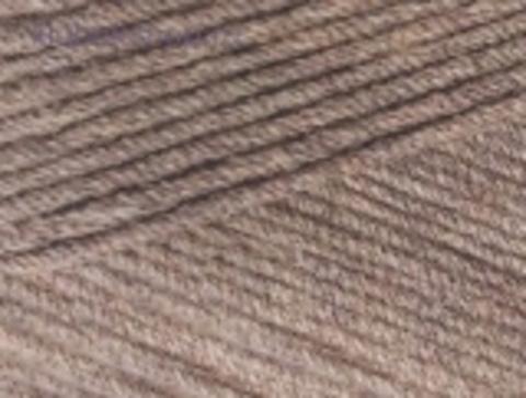 Cotton gold PLUS 688 Кофейно-бежевый меланж Alize - фото