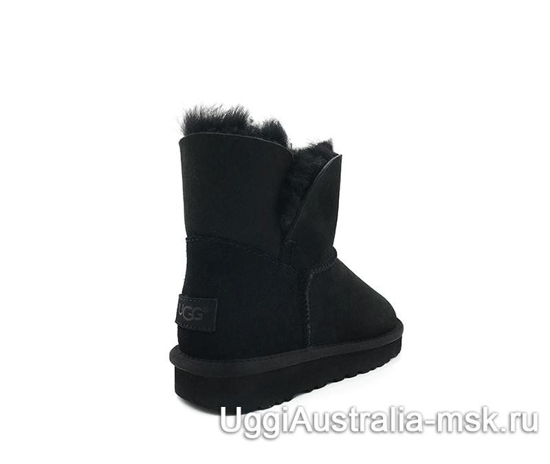 UGG Women's Classic Mini Cuff Boot Black