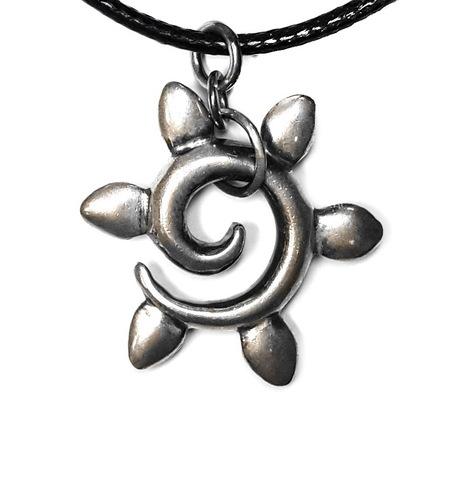 Sun pendant, sterling silver
