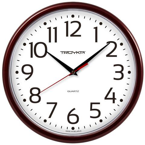 Часы настенные Troyka 91931912 (22.5х22.5х3.7 см)