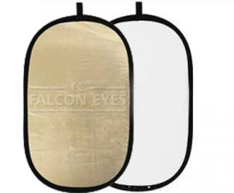 Отражатель Falcon Eyes RFR-4066M 102x168 cm белый/золотистый