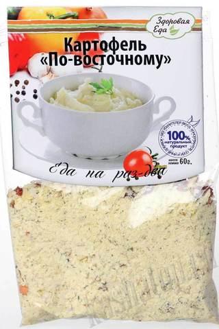 Картофель по-восточному 'Здоровая еда'