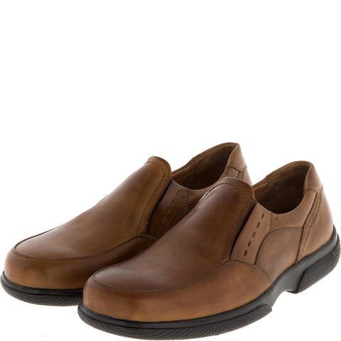 582367 полуботинки мужские коричневые. КупиРазмер — обувь больших размеров марки Делфино
