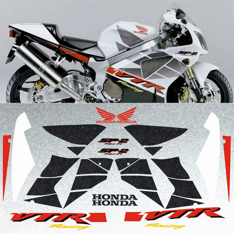 Набор виниловых наклеек на мотоцикл HONDA VTR 1000 SP-2 2002
