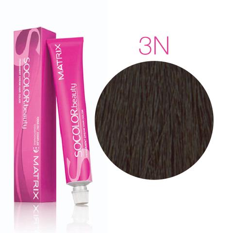 Matrix Socolor Beauty 3N (Темный шатен) стойкая крем-краска для волос