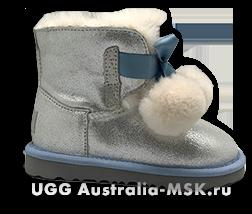 UGG Kids Gita Silver