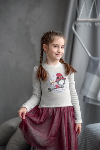 ПЛ235 Платье для девочки