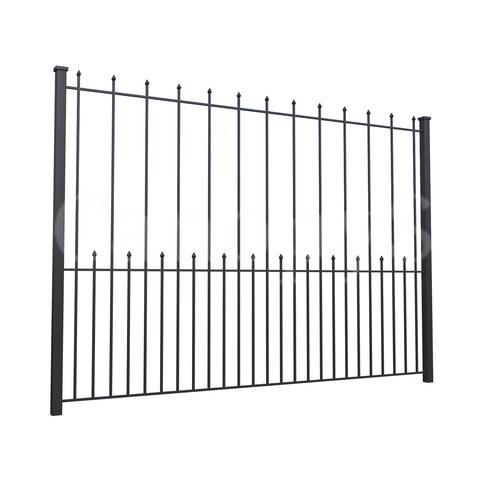 Забор для дачи с пиками