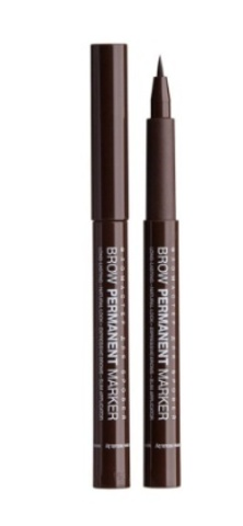 RELOUIS Фломастер для бровей BROW PERMANENT MARKER тон:02,Brown