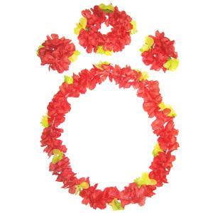 Набор Гавайский (венок,браслеты)