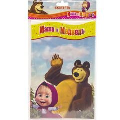 Скатерть п/э Маша и Медведь 130х180см