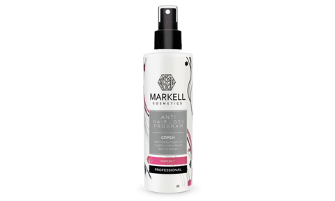 Markell Anti Hair Loss Program Спрей против выпадения и стимуляции роста волос 200мл