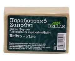 Натуральное оливковое мыло хвойное Bellas 100 гр