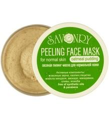 Пилинг-маска для лица Овсяный пудинг (для нормального типа кожи), 150g TM Savonry