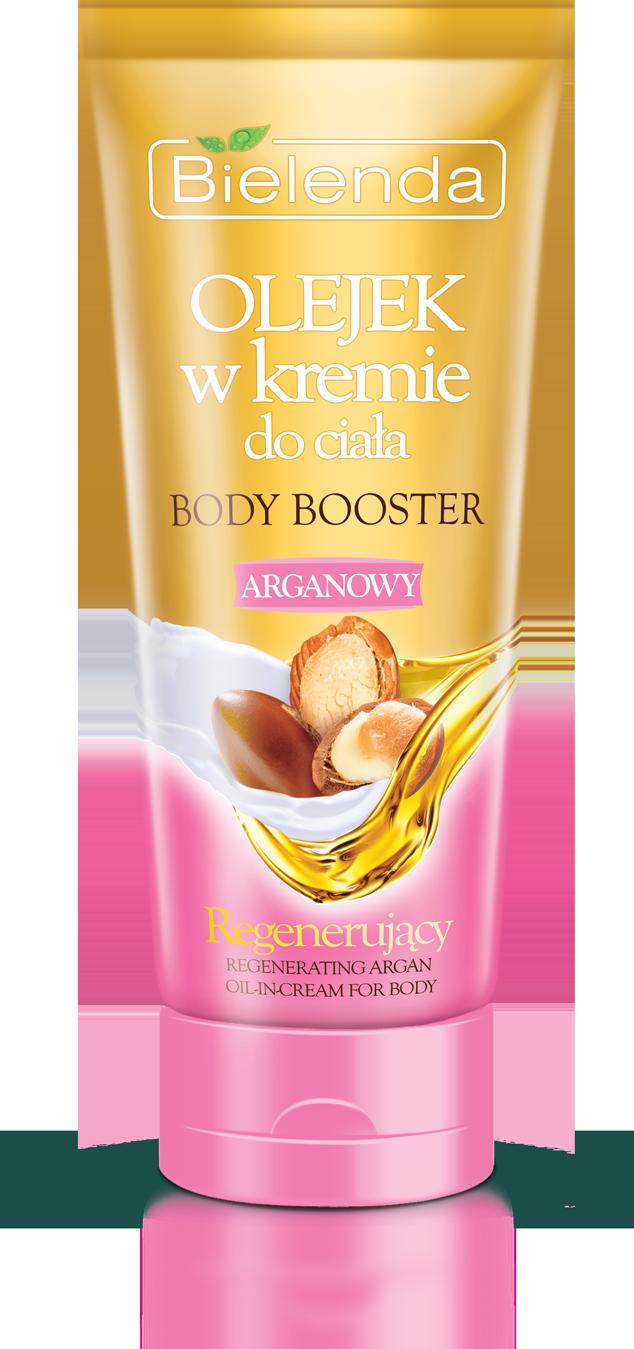 BODY BOOSTER Масло- крем для тела Аргановое Регенерирующее 200мл