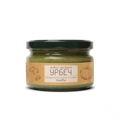 Урбеч из семян тыквы, 225 гр. (Живой продукт)