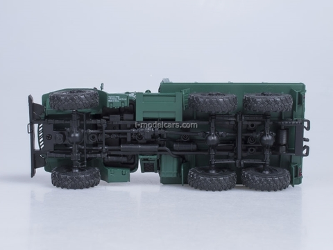 Ural-375D board green AutoHistory 1:43