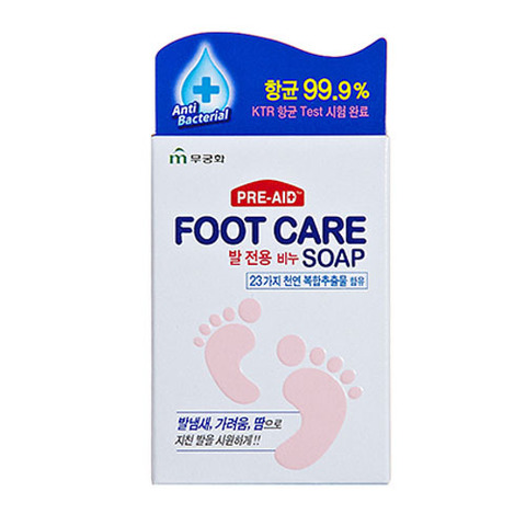 MUKUNGHWA Soap Мыло для ног Foot Care Soap
