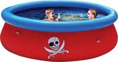 Надувной круглый бассейн с 3D рисунком, 274х76см, 3480л, 2 пары 3D очков.