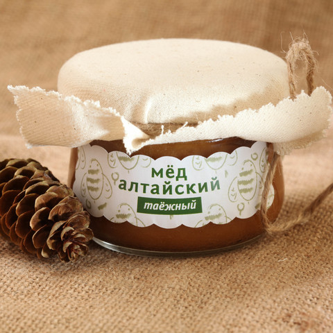 Мёд Алтайский таёжный