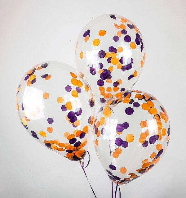 Шары с конфетти Воздушный шар с оранжево-фиолетовым конфетти оранж_фиолет_конф.jpg