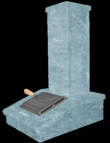 Облицовка на трубу Талькохлорит, высота 790мм. ПБ-03/03-ЗК Президент, Русский пар, Гром 30