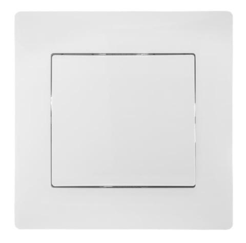 Выключатель одноклавишный , 220/250 В~. Цвет Белый. Bravo GUSI Electric. С10В1-001-СБ