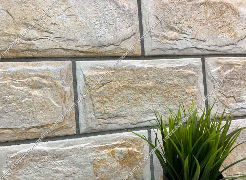 SilverFox Anes 414 Beige - Цокольная плитка под камень, 300х150х9