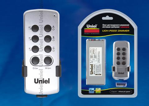 UCH-P003-G3-450W-30M Пульт управления светом с диммером, три канала. Блистерная упаковка