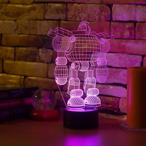 3D светильник Робот