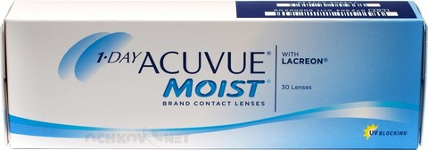 1-Day Acuvue Moist 30шт BC 8.5