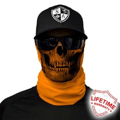 Бандана с черепом SA Tactical-Orange Skull