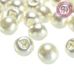 Пуговицы под жемчуг круглые, 12 мм, 20 гр.