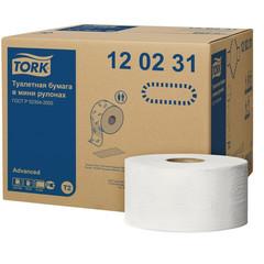 Бумага туалетная в рулонах Tork Advanced T2 2-слойная 12 рулонов по 170 метров (артикул производителя 120231)
