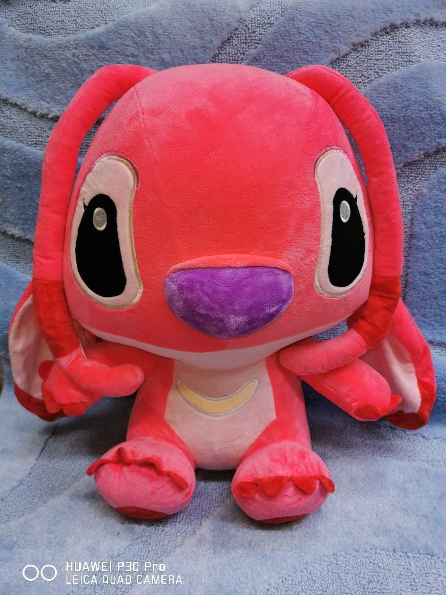 Стич розовый 45 см