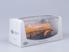 Semitrailer TC-4 Cement orange Start Scale Models (SSM) 1:43
