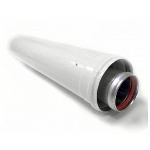 Труба для коаксиального дымохода Viessmann LAS D60/100 мм, длина 1000 мм (укорачиваемая)