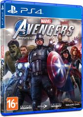 PS4 Мстители Marvel (русская версия)