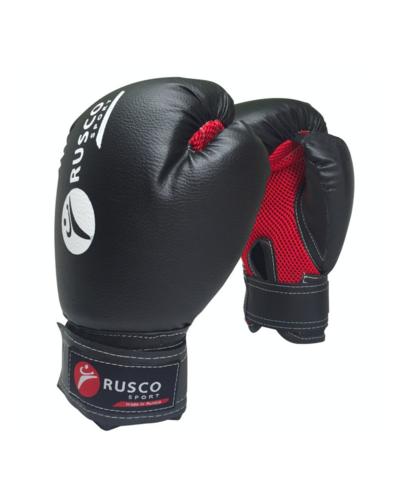 Перчатки боксерские Rusco чёрные