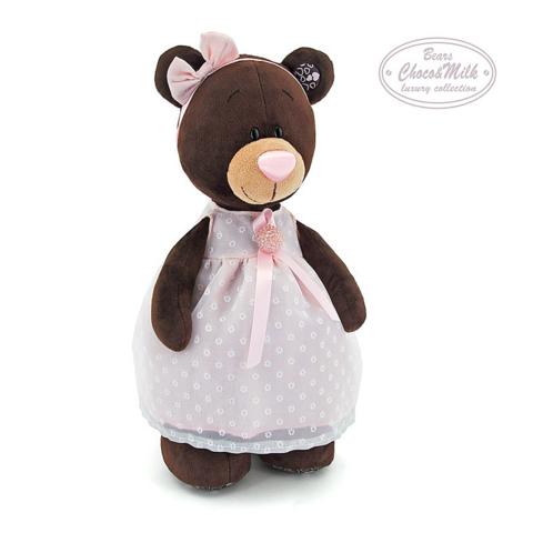 Медведь Milk стоячая в платье M5046/35