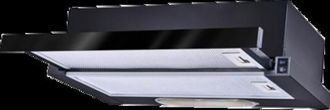 Встраиваемая вытяжка TEKA LS 60 BLACK / GLASS