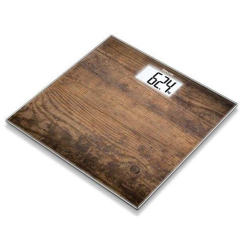Весы напольные электронные Beurer (B-GS203W) макс.150кг рисунок/дерево