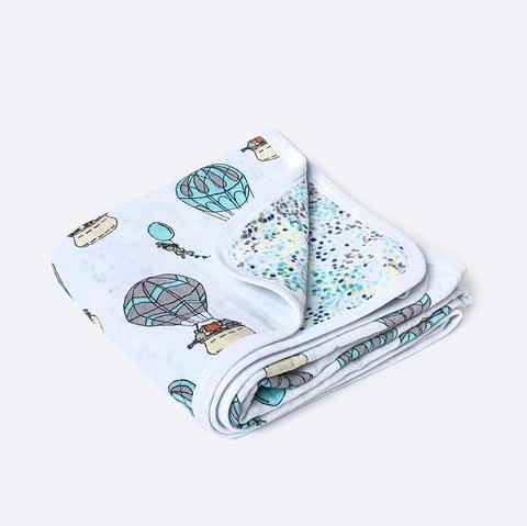 Муслиновое одеяло Mjölk Воздушные шары