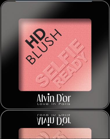 Alvin D`or B-2 Румяна пудровые HD Blush selfie ready 6гр (тон 07)