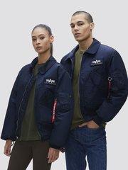 Куртка Alpha Industries CWU 45/P Rep. Blue (Синяя)