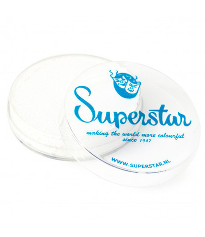 161 Аквагрим Superstar 16 гр белый для линий