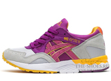 Кроссовки Женские Asics GEL LYTE V Grey Lilac Yellow
