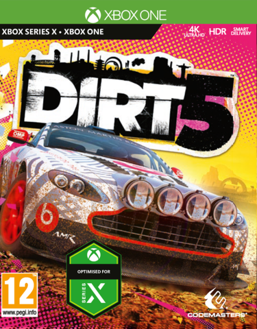 Xbox One/Xbox Series X Dirt 5 (английская версия)